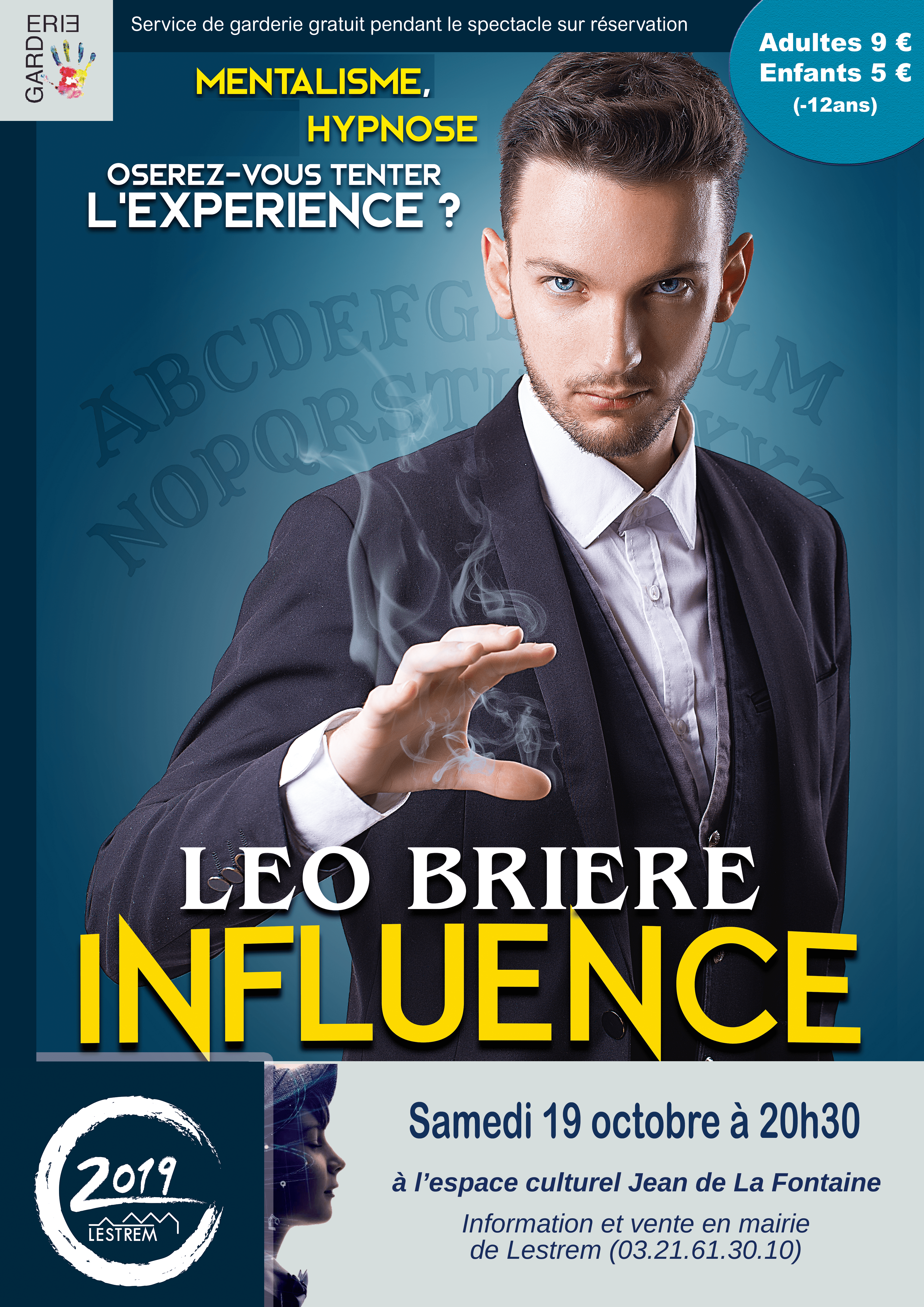 Affiche Spectacle influence 2019