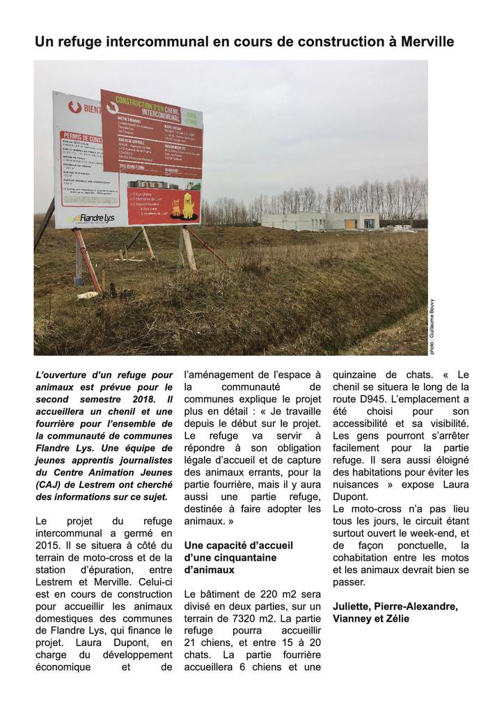 Article refuge interco p1