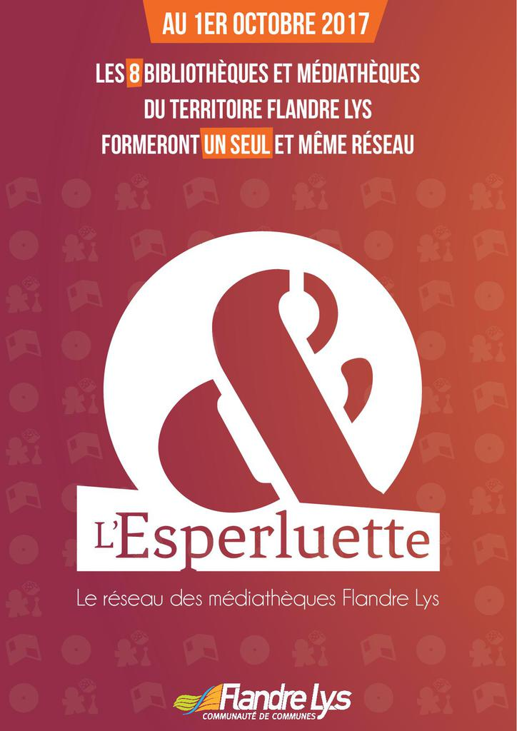 Flyer recto l'esperluette